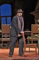 Placido Domingo as Gianni Schicchi at the Metropolitan Opera